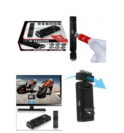 RECEPTOR TDT DBVT-2 HD MINI USB GRADADOR HDMI