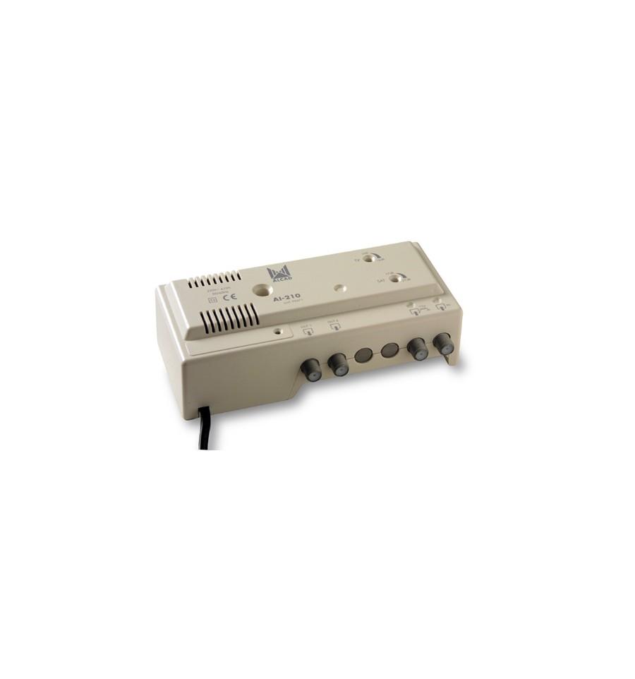 Ai 210 amplificador interior diprotel - Amplificador tv interior ...